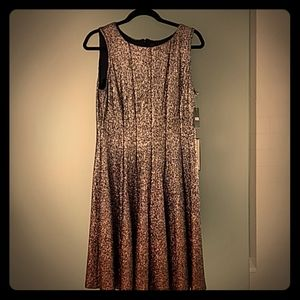 MSK Sparkly ombre cocktail dress.